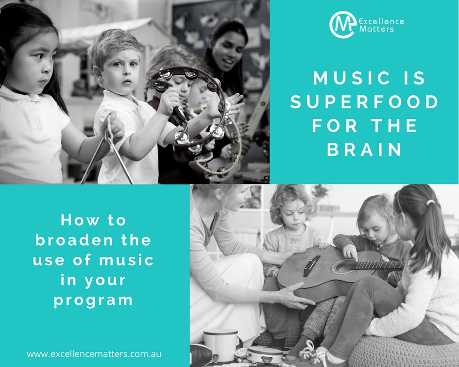 Excellence Matters Early Childhood Music Children Brain Development